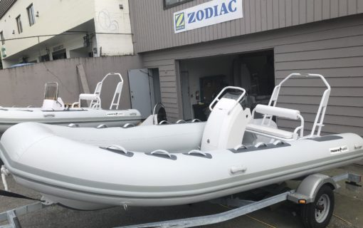 New Pacific Wave PW500 Hypalon w/ Yamaha F70