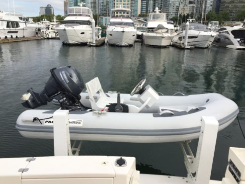 2021 Pacific Wave 300 Hypalon with FCT and 20HP